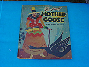 1934 Mother Goose H. Lentz Pop-up Book
