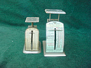 Pr. of Old Postal Scales (Image1)