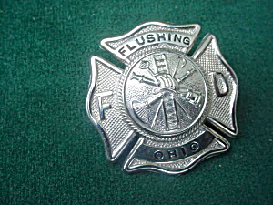 Flushing, Ohio Fire Dept. Badge (Image1)