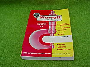 Starrett 1st Ed. No. 27 Catalog (Image1)