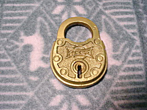 Old Reese Brass Lock