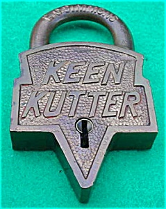 Early Brass Keen Kutter Padlock (Image1)