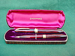 Sheaffer Pen & Pencil Set w/Org. Box (Image1)