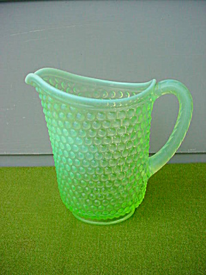 Hobnail Opalescent Water Pitcher (Image1)
