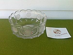 Rare Fostoria Coin Avon Presentation Bowl (Image1)