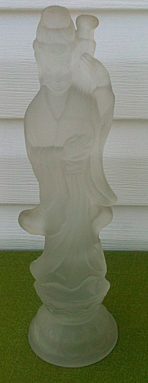 Fostoria Chinese Lute Glass Figure (Image1)