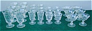 Lg. Fostoria Colony Stemware Collection (Image1)
