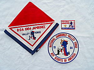 1964 Boy Scouts Jamboree Jacket Patch & More (Image1)