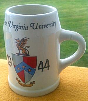 1944 West Virginia University Fraternity? Mug (Image1)