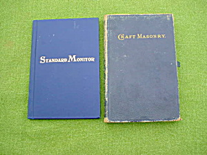 1874 Craft Masonry Masonic Manual & Other (Image1)