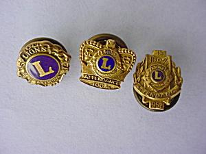 1950's Lion's Club Pins (Image1)