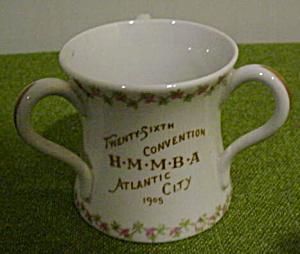 1905 Banker/Insurance 3-Handle Convention Mug (Image1)