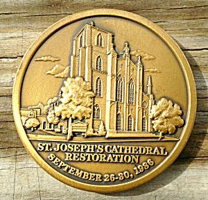St Joseph Restoration Medallion Columbus Ohio (Image1)