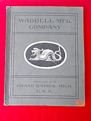 Early Waddell Mfg. Co. Catalog Wood Products  (Image1)