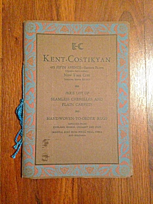 Kent-costikyan Nyc Carpet/rug Old Catalog