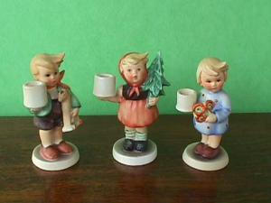 Hummel Figurines Advent Group Candleholders