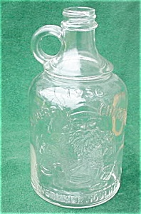 1936 Overland Mould Co Santa Christmas Bottle (Image1)