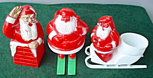 Early Plastic Santa Collection (Image1)