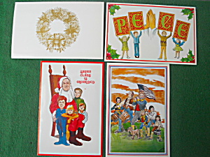 Mid 1970's Bob Hope Christmas Cards