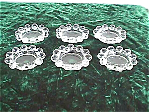 "(6) Imperial Candlewick 2 3/4"" Ashtrays (Image1)"