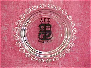 Alpha Phi Sigma Candlewick Fraternity Ashtray (Image1)