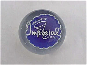 Imperial Glass Advertisement Paperweight (Image1)