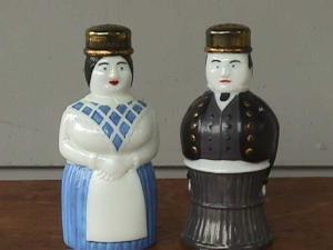 Rare, Imperial Figurine Salz Pfeffer Shakers (Image1)