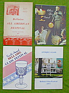 Bellaire Glass Festival Souvenir Booklets (Image1)