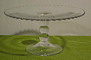 Imperial Candlewick Tall Cake Stand (Image1)