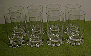 (8) Imperial Candlewick Juice Tumblers (Image1)