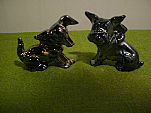 Pr. of Imperial Glass Animal Pups (Image1)
