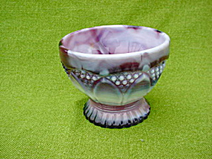 Htf, Imperial Purple Slag Mint Dish