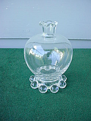 Imperial Candlewick Ball Bud Vase