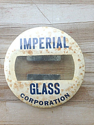 Imperial Glass Employee? Badge (Image1)