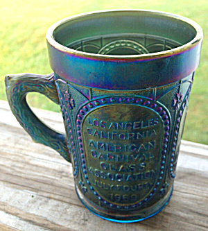 Imperial Glass Carnival Glass Meeting Mug