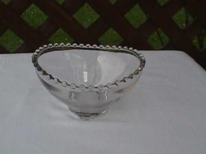 Imperial Candlewick 3-Toed Nappy Bowl (Image1)