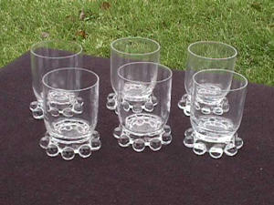 SET OF 6 CANDLEWICK 3 OZ. FTD. WINES (Image1)