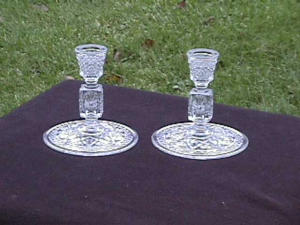 "IMPERIAL CAPE COD 5 1/4"" CANDLEHOLDERS (Image1)"