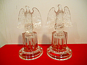 Pr. Imperial Candlewick Eagle Bookends (Image1)