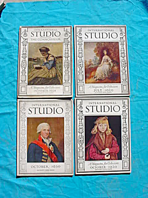 International Studio Magazines 1920's To 30