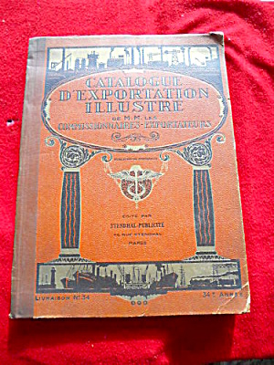 Early, French Illustrated Export Catalog
