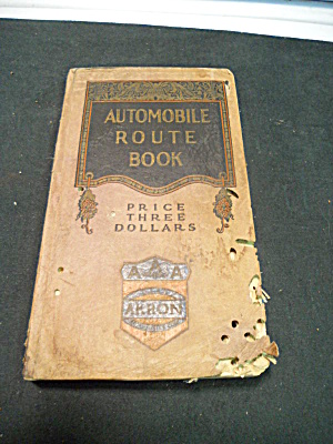 1927 Automobile Route Book Ohio And Ne States
