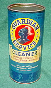 50's Unopened Guardian Service Ware Cleaner (Image1)