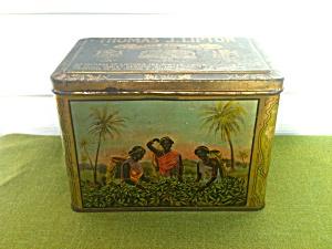 Early Thomas J. Lipton 3lbs. Tea Tin (Image1)