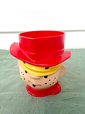 DENNIS THE MENACE Plastic Mug (Image1)