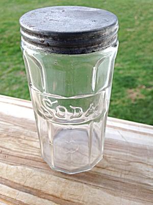 Vintage Baking Soda Hoosier Jar (Image1)
