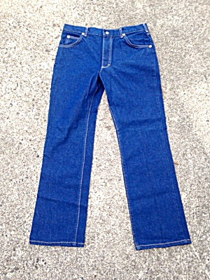 Vintage Lee Husky Denim Jeans Size 34