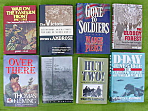 Lg. WWII Book Collection (Image1)