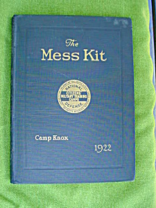 1922 Camp Knox, Ky Mess Kit Annual (Image1)