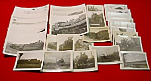 Collection Train Real Photos Korean War Pusan (Image1)